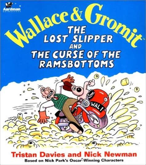 the curse of books wallace gromit the lost slipper and the curse of the