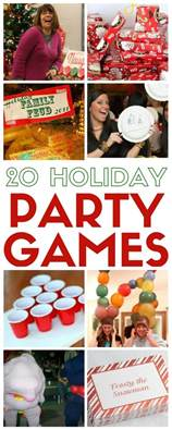 20 party games for the christmas holidays the crafty
