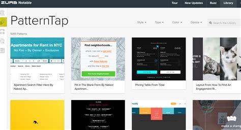 net tap pattern 欲しい素材がきっとある webデザインパーツのギャラリーサイト29選 ferret フェレット
