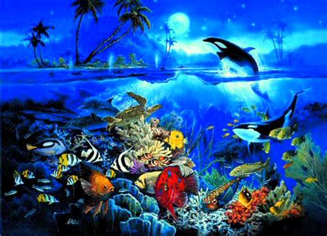 free wallpaper underwater scene underwater background wallpapersafari