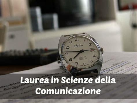 laurea in scienze della comunicazione scienze della comunicazione sbocchi professionali della