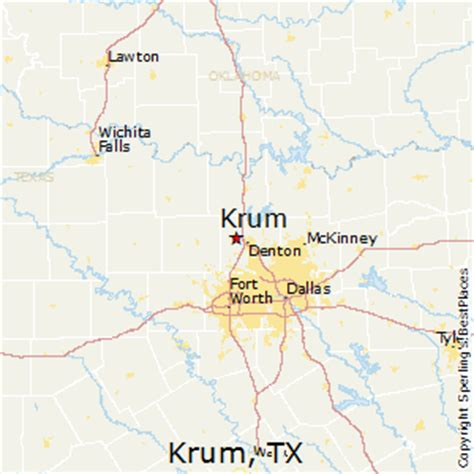 krum texas map best places to live in krum texas