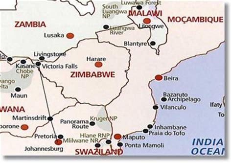 africa map falls falls safari johannesburg