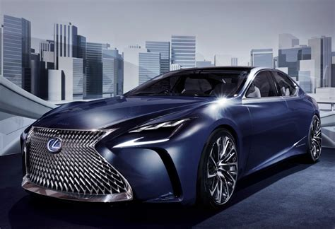 new lexus ls 2017 2018 lexus ls might get turbo engine autoevolution
