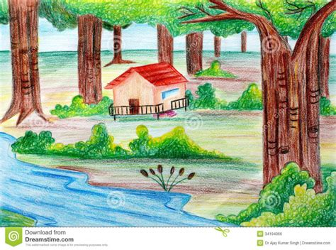 most beautiful scenery drawing tag easy pencil shading drawing color beautiful scenery drawing library