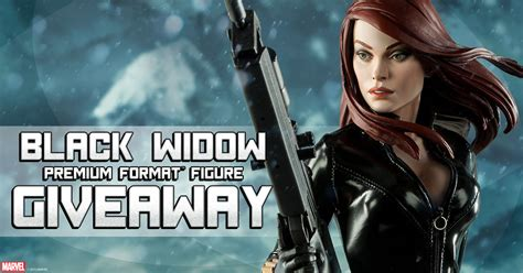 Marvel Giveaway - black friday marvel black widow giveaway sideshow collectibles