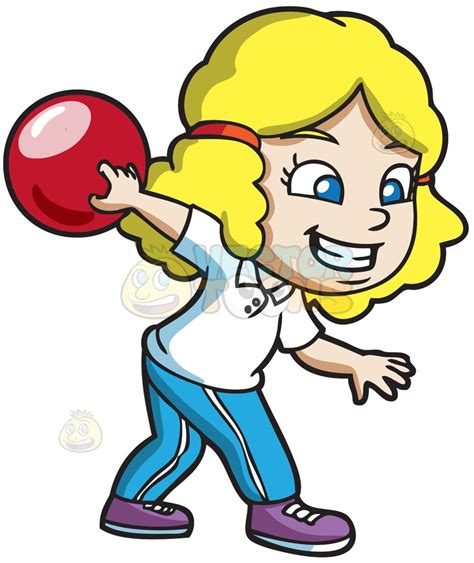 bowling clipart a enjoying the of bowling clipart