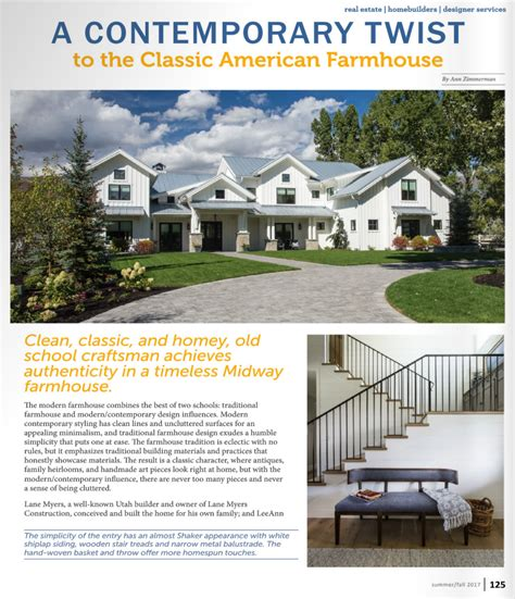 utah home design magazine 100 design home builders utah modern farmhouse lane