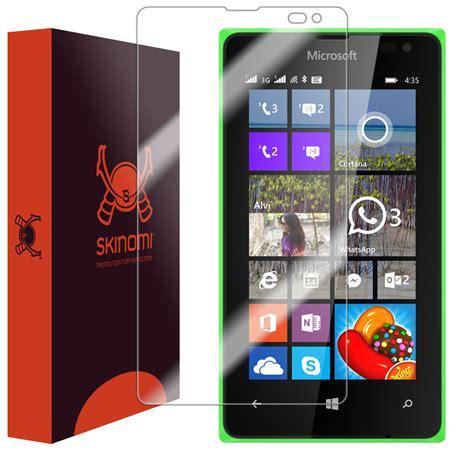 Antiglare Screen Guard Microsoft Lumia 435 skinomi techskin microsoft lumia 435 screen protector
