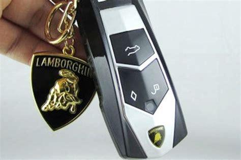 Lamborghini Car Key Tiny Mobile Phones That Look Like Car Key Fobs Being