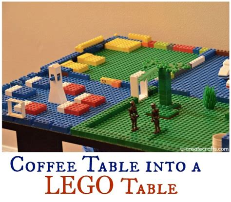 how to make a coffee table into an ottoman turn a coffee table into a lego table u create