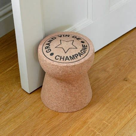 chagne cork door stop grand vin de chagne