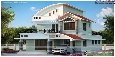 modern beautiful kerala home design kerala house plans