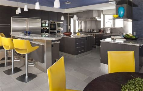 modern yellow and grey kitchen ideas 20 stylish ways to work with gray kitchen cabinets