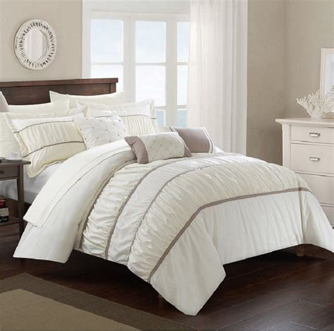 10 piece comforter set bed in a bag bedding sheets queen