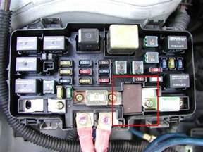P1298 Honda Civic 2001 Wtb 96 00 Civic Electrical Load Detector Eld 1 Fuse