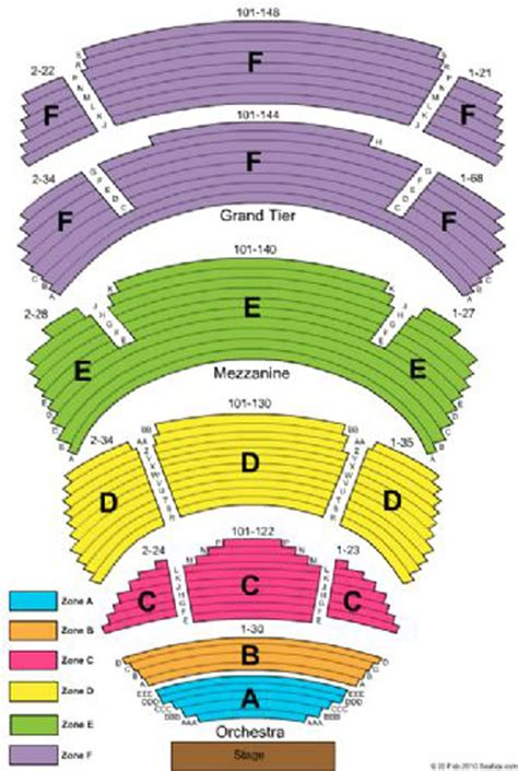 cobb energy centre seating chart
