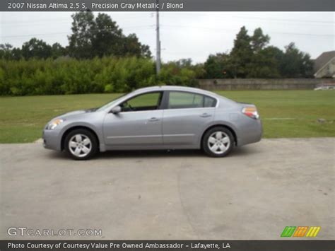 grey nissan altima 2007 precision gray metallic 2007 nissan altima 2 5 s blond