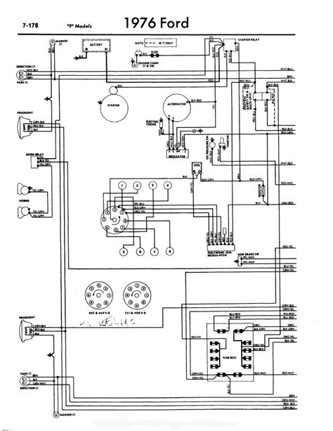 diagrams 25591200 f100 wiring diagram ford truck technical drawings and schematics section h