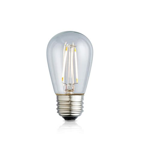 Meval Led Bulb 11w meridian 11w equivalent bright white 3000k s14 non dimmable led replacement light bulb 13181
