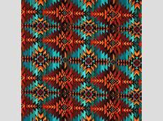 Treasures Southwest Sunset Indian Blanket Novelty Cotton Fabric /Yd