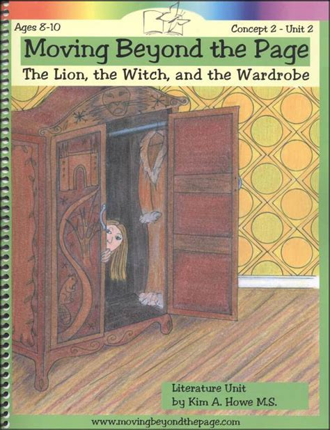 Witch And Wardrobe Study Guide by The Witch And The Wardrobe Literature Unit 044410 Details Rainbow Resource Center Inc