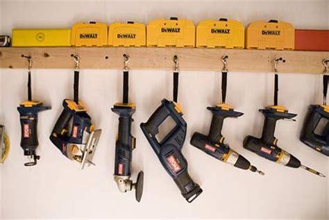 Garage Organization Power Tools 15 Ideas To Organize Your Garage