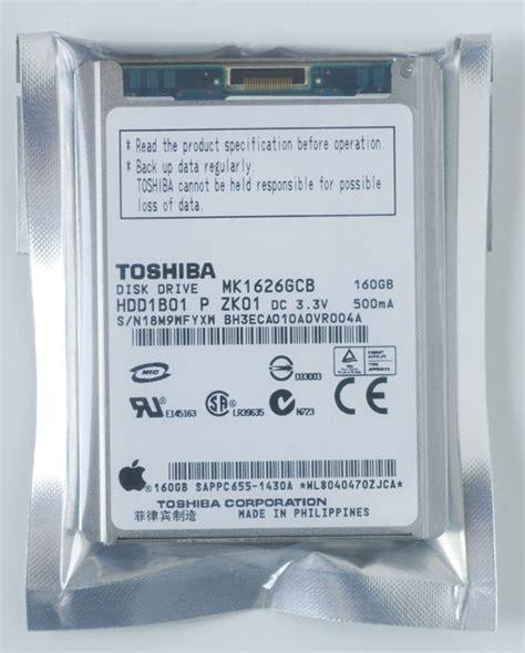 Hardisk Eksternal Toshiba 160gb 1 8toshiba drive for ipod classic 6th 160gb mk1626gcb mk1626gcb 163 169 99 www