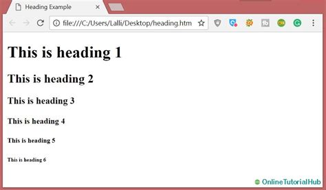 html tutorial html tags what is html tags learn html html tutorial easy html