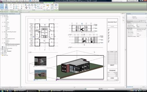 plan layout revit 093 tutorial how to layout a sheet and print in revit