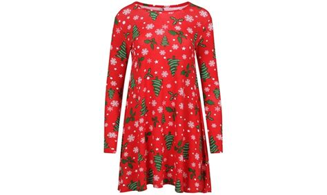 christmas themed clothing uk christmas themed swing dresses groupon goods