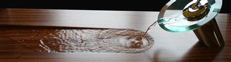 Durata® Permanent Waterproof Bar Top, Wood Countertop Finish