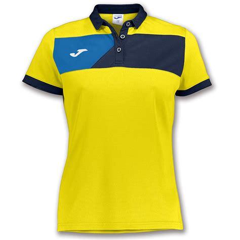 Polo Shirt Coldplay Navy s s polo shirt crew ii yellow navy blue joma