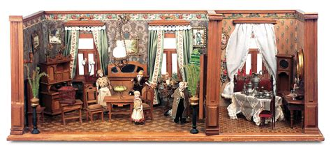 doll house rooms the boys collection 39 german wooden dollhouse rooms by christian hacker with