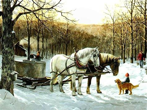 maple tree and horses 15 best images about sugar bush on trees donald o connor and acrylics