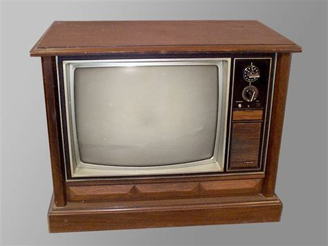 Tv Konsole by Vintage Console Television Stripers