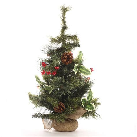 decorative artificial pine tree trees and toppers christmas and winter holiday crafts