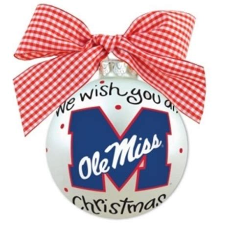 ole miss ornament ole miss rebels pinterest