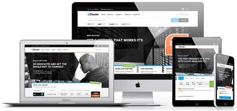 thememetro clouder whmcs template webmaster