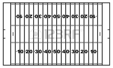 Football Field Diagram Black And White Clipart Panda Blank Football Field Diagram