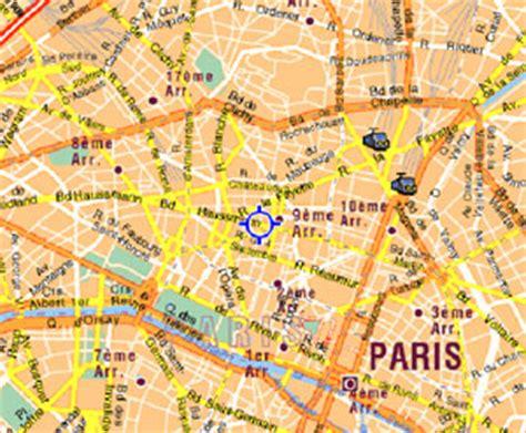 printable street map paris paris street detailedtraveltouristcity