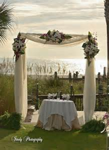 Draped Wedding Arch Ceremony Arbor And Fabric Help Weddingbee