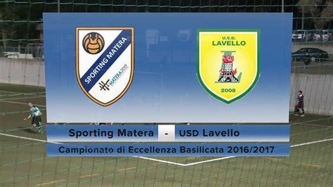 lavello calcio sporting matera usd lavello 1 0 04 dic 2016 13 176 giornata