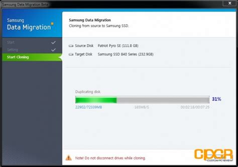 Samsung Data Migration by Samsung 840 250gb Ssd Review Custom Pc Review