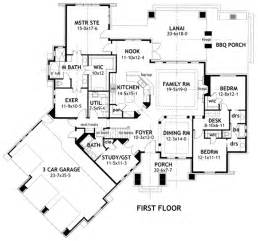 one story floor plans with basement house plan 65869 at familyhomeplans com