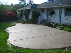 Concrete Slabs For Patio by Portfolio For Washington And Oregon Concrete Contractor
