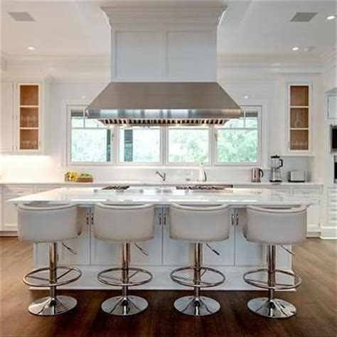 kitchen island chairs with backs best 25 white leather bar stools ideas on pinterest
