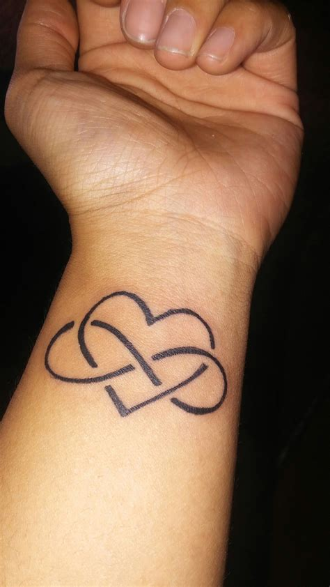 love infinity tattoo designs infinity on wrist my ink ideas
