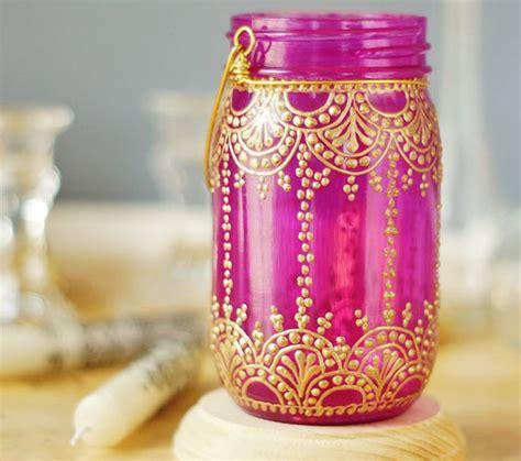 garden decoration jar best 25 decorated jars ideas on glittered