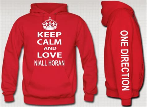 Hoodie Zipper One Direction Horan Hitamrockzillastore keep calm and niall horan hoodie niall zayn liam louis one direction 1d 44 94 via etsy